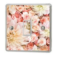 Pretty mixed floral Light Switch Sticker Vinyl/Graphics/Decal/Skin Cover sw27