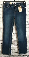 LEVI'S Girls 711 Skinny Stretch Denim Jeans Adj. Waist Size 8.5 Plus  *A17