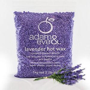 Adam & Eve JAX WAX ALPINE BLUEBELL Lavender Hot Wax Beads 1kg - FREE POSTAGE