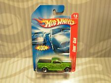 2007 HOT WHEELS ''CODE CAR''  #98 = DODGE POWER WAGON = GREEN