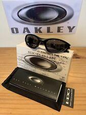 Oakley Minute 1.0 Sunglasses - Black/Black Iridium - 04-081 - New In Box - Rare
