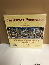 SunsOut 1000 Piece Jigsaw Puzzle Christmas Panorama by Kevin Walsh New Unopened