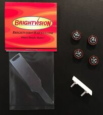 Brightvision Chaparral Tune-Up Kit #10 – 4 Medium Wheels, Wing & Tune-Up Tool