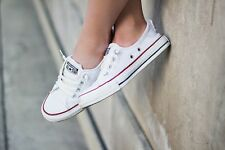 Converse Chuck Taylor all StarWHITE Brand new shoreline slip ons womens Size 8