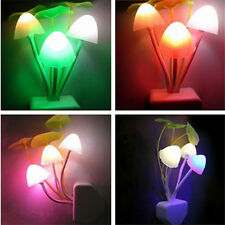 New Color Changing Mushroom LED Lamp Night Light Bed Wall Lamp Home Illumination