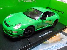 PORSCHE 911 ( 997 ) Carrera GT3 RS green grün 2010 Welly 1:18