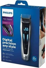 Mens Philips Cordless Hair Clippers Series 9000 Rechargeable HC9450/13