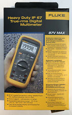 New Fluke Fluke 87v Max Industrial True Rms Heavy Duty Multimete Lcd