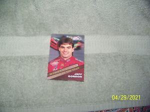 vintage 90's sports trading card  racing/nascar  {jeff gordan}