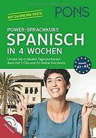 PONS Power-Sprachkurs Spanisch in 4 Wochen: Lernen Sie i...   Buch   Zustand gut