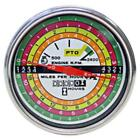 388588R91 Tachometer W/ White Facing Fits Case-IH Tractors 706 756 766 806 826