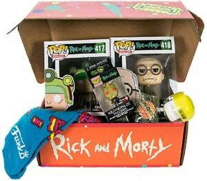 Rick and Morty Funko Blips & Chitz Collectible Vinyl Pops Gift Box Set New