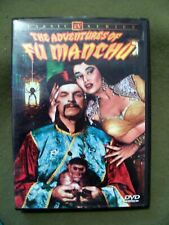 Classic TV Series ~ The Adventures of Fu Manchu 4 Episodes (DVD, B&W)