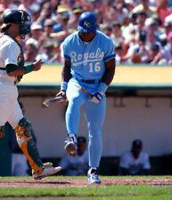 "Bo Jackson - 11"" x 14"" Photo - Bat Breaker - Kansas City Royals Baseball"