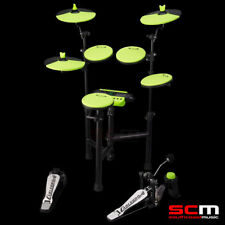 Carlsbro CSD130 Electronic Drumkit Compact 5 PCE Drum Kit +Yamaha Headphones New