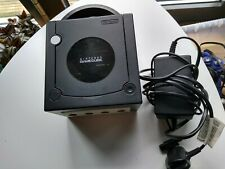 Nintendo Gamecube Console - Black - No Controllers or Composite RCA cable