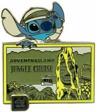 Disney WDW 40th Anniversary of Walt Disney World Jungle Cruise Stitch Pin