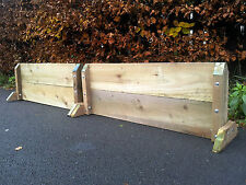 A Pair of 4ft Wide Show Jump Fillers (2 Fillers) 8ft wide in total