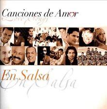 VARIOUS ARTISTS - CANCIONES DE AMOR (LOVE SONGS): EN SALSA NEW CD