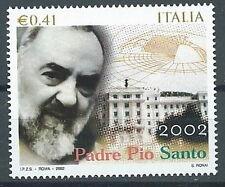 2002 ITALIA PADRE PIO MNH **