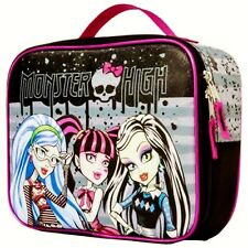 Monster High Frankie Draculaura Pvc & Lead-Free Insulated Lunch Tote Box Nwt $20