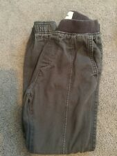 Abercrombie Kids Boys Gray Joggers Pants Size Extra Small XS