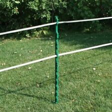 Rutland Electric Fencing Poly Post 10 Pieces - Green