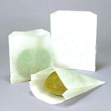 "50 Glassine Grease Resistant 1 LB 5 ¾/"" x 7 ¾/"" Translucent Bags"