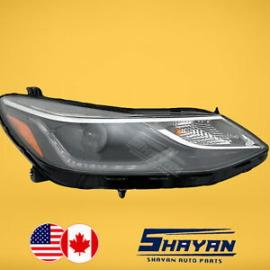 FOR: 2016 2017 2018 2019 CHEVY CHEVROLET CRUZE LED DRL HEADLIGHT RIGHT HAND SIDE