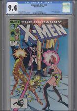 Uncanny X-Men #189 CGC 9.4 1985 Sebastian Shaw, Magma App: New Frame