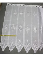 25 cm breite Scheibengardine Gardine, Scheibengardinen 60 oder 90 cm hoch