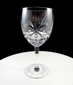 "GORHAM CRYSTAL RENAISSANCE BY BARTHMANN SUNBURST DRAPE 5 7/8"" WINE GLASS 1967-75"