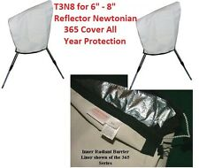"""Telescope cover 365 Series All year Protection 8"""" Reflector Newtonian EQ Mount"""