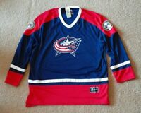 New With Tags Official Licensed NHL Columbus Blue Jackets Hockey Jersey Size XL