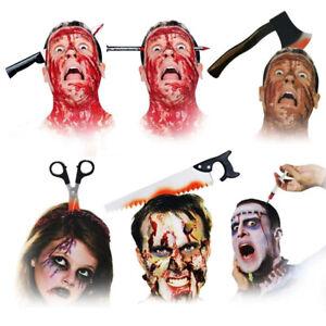 Halloween Scary Horror Headband Fancy Dress Costume Party Hair Accessory Props