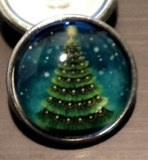Fits Ginger Snap Christmas Tree Ginger SNAPS Magnolia Vine JEWELRY 18mm Button