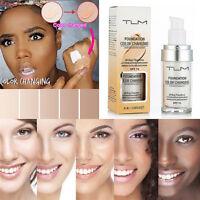 30ml TLM Color Changing Liquid Foundation Makeup Concealer Make Up Skin Tone