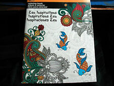 Adult Coloring Book Artzone Art Zone Zen Inspirations