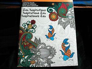 Adult Coloring Book Artzone Art Zone Zen Inspirations