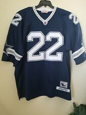 DALLAS COWBOYS #22 Emmitt Smith Football Jersey NFL Mitchell & Ness Throwback 60