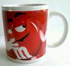 Red M&M Coffee Mug Tea Cup 12 oz