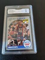 1990 NBA Hoops #193 Mookie Blaylock Rookie Card RC GMA 10 Gem Mint LOW POP