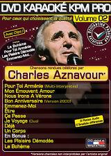 "DVD Karaoké KPM Pro Vol.02 ""Charles Aznavour"""
