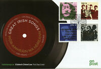 Ireland 2019 FDC Great Irish Songs U2 Cranberries 4v Set Cover Music Stamps