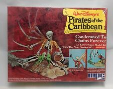 """MPC PIRATES CARIBBEAN """"Condemned to Chains Forever"""" NEW model kit 1972 disney"""
