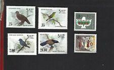 Sri Lanka sc#691-4,740-1 (1983-5) Complete MNH