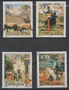 Yugoslavia 1987 #1873-76 Traditional Competitions - MNH
