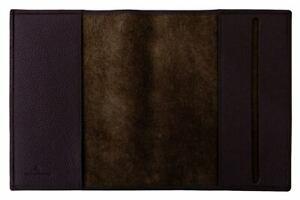 Carpe Diem A5 Book Cover Derby Fashion Leather Black