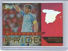 IKER CASILLAS 2015 Select Soccer Pride Red Refractor Spain 117/199
