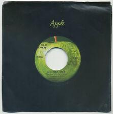 "MARY HOPKIN Que Sera, Sera/Fields Of St. Etienne 7"" 1969 Apple orig EX"